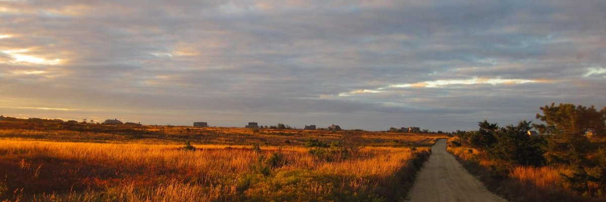 Nantucket Hummock Pond Sunset