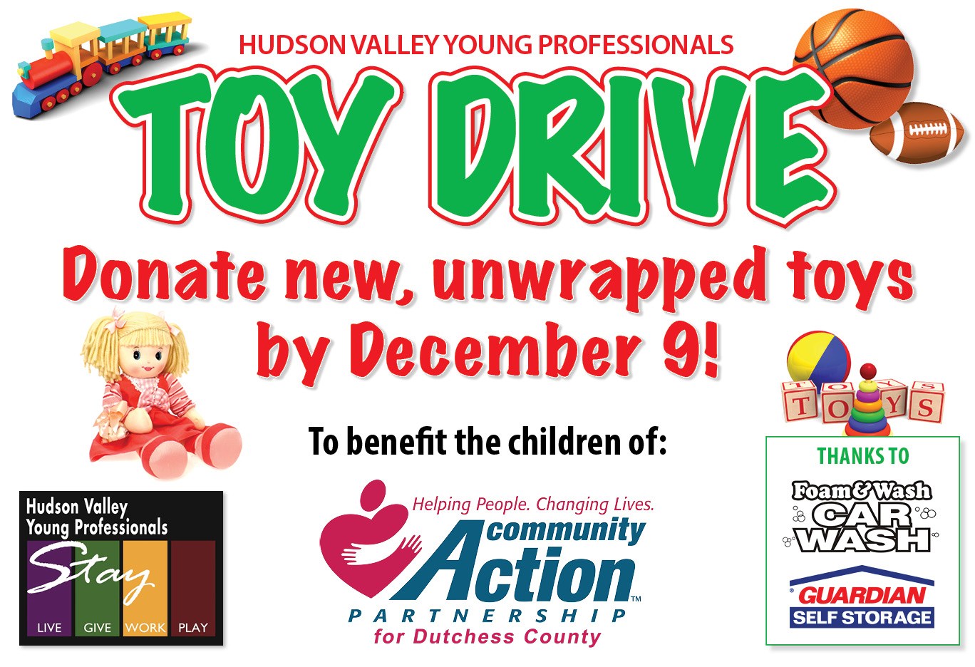 Toy Drive Poster 2016