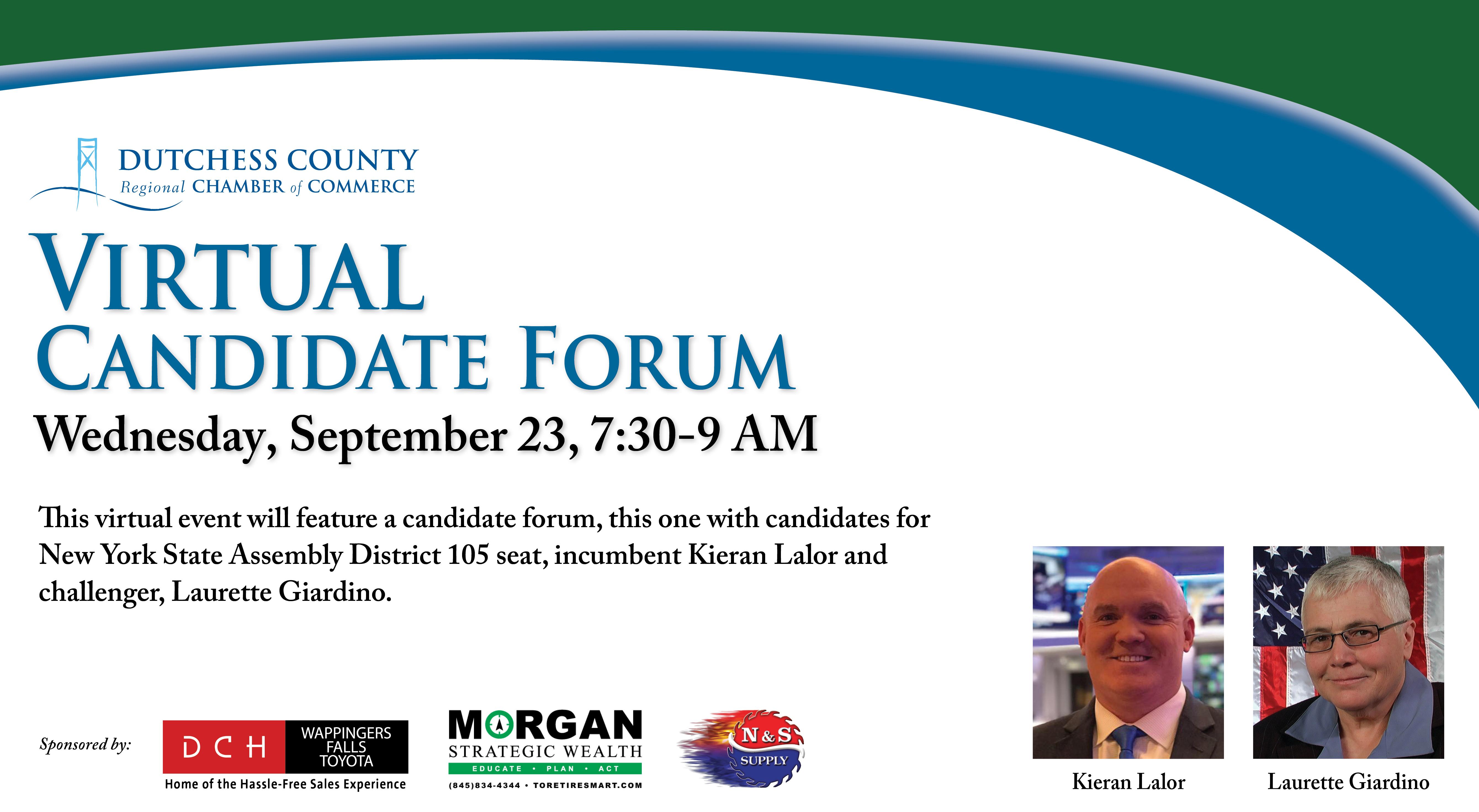 Candidate Forum Graphic