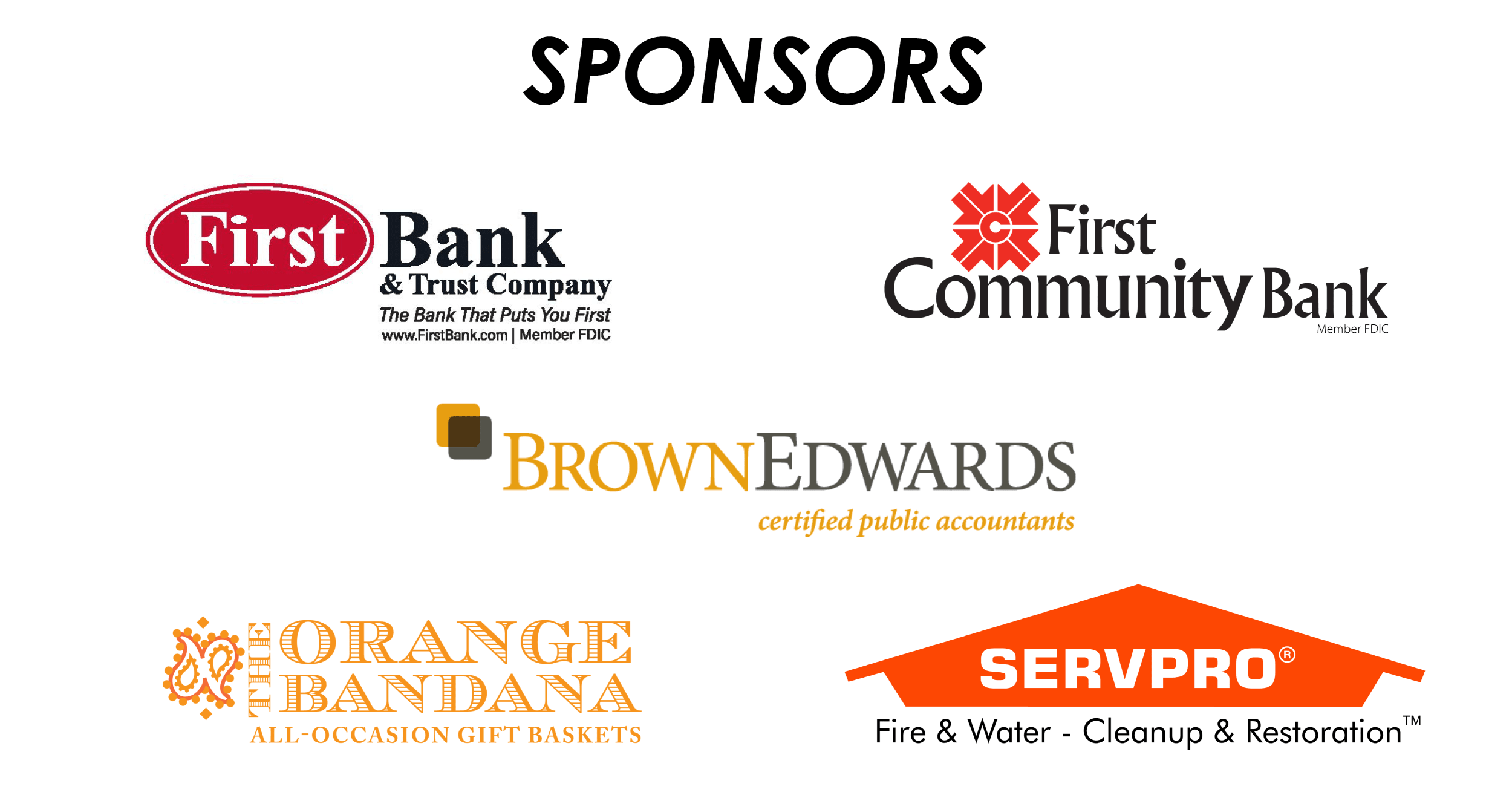 Case Group Sponsors