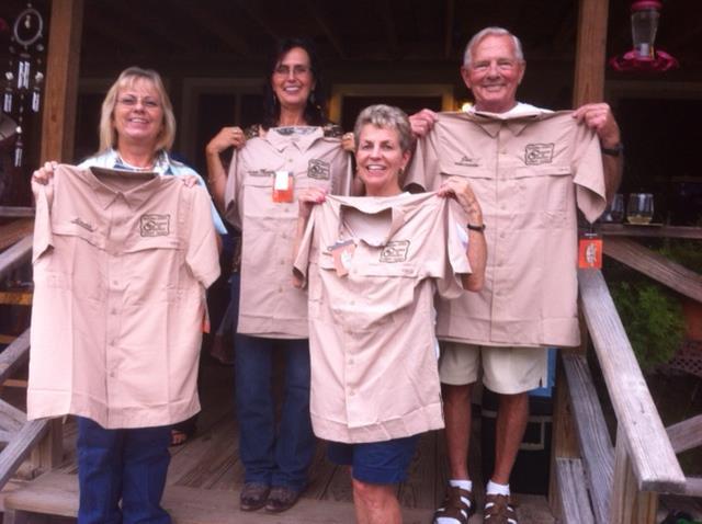 Ambassadors -- Linda Franklin, Anna Maria DeGroot, Kathy Campbell, and Joe Haeckel
