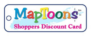 MapToons Shoppers Discount Card