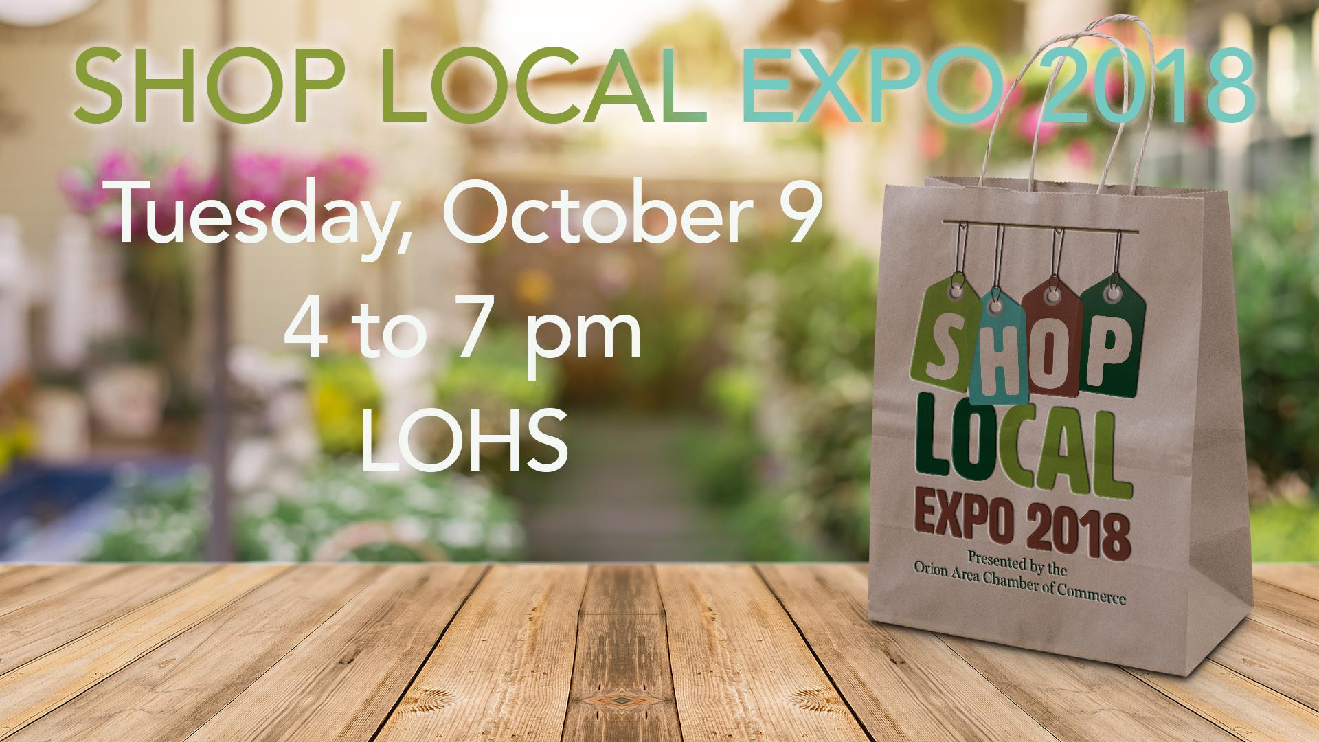 Shop Local Expo 2018