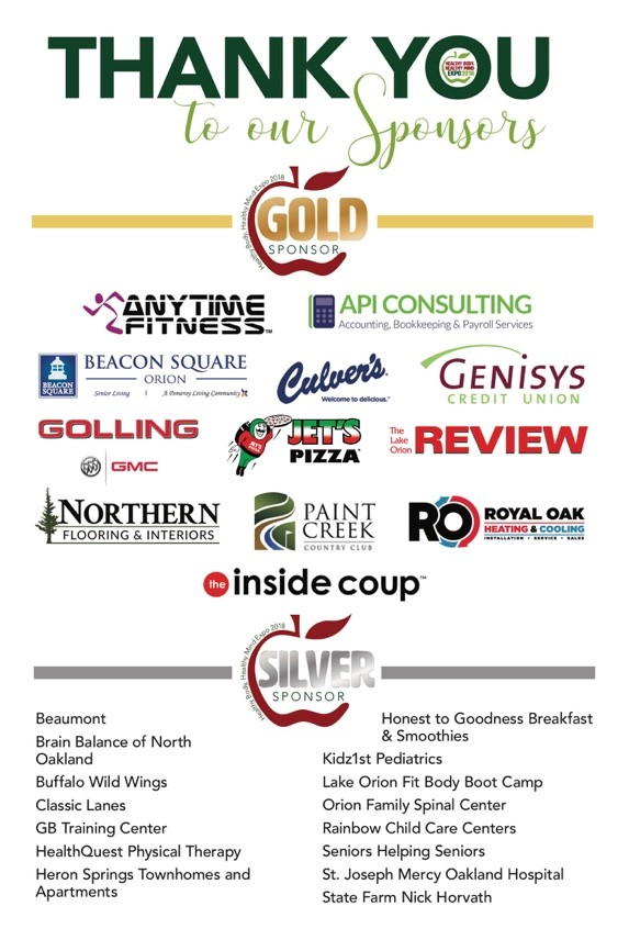 Gold and Silver Sponsors HBHM 2018