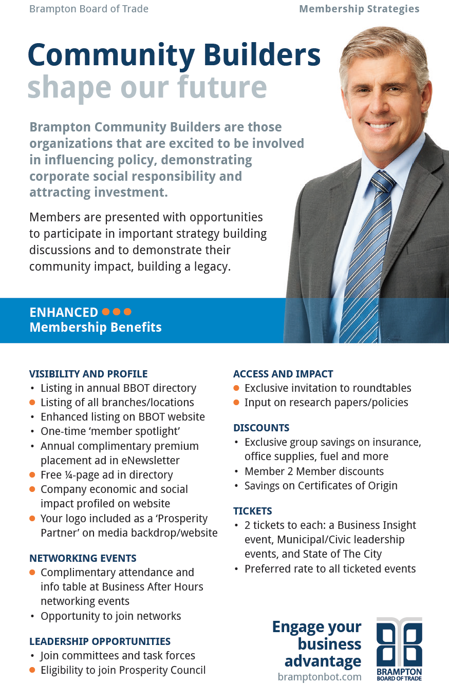 Community Builders Brampton Board of Trade