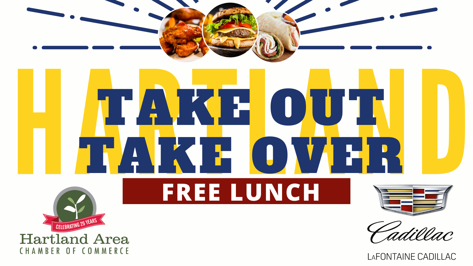 Take Out Take Over - FREE Lunch Campaign