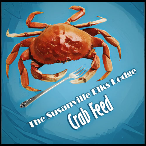 The Susanville Elks Lodge Crab Feed
