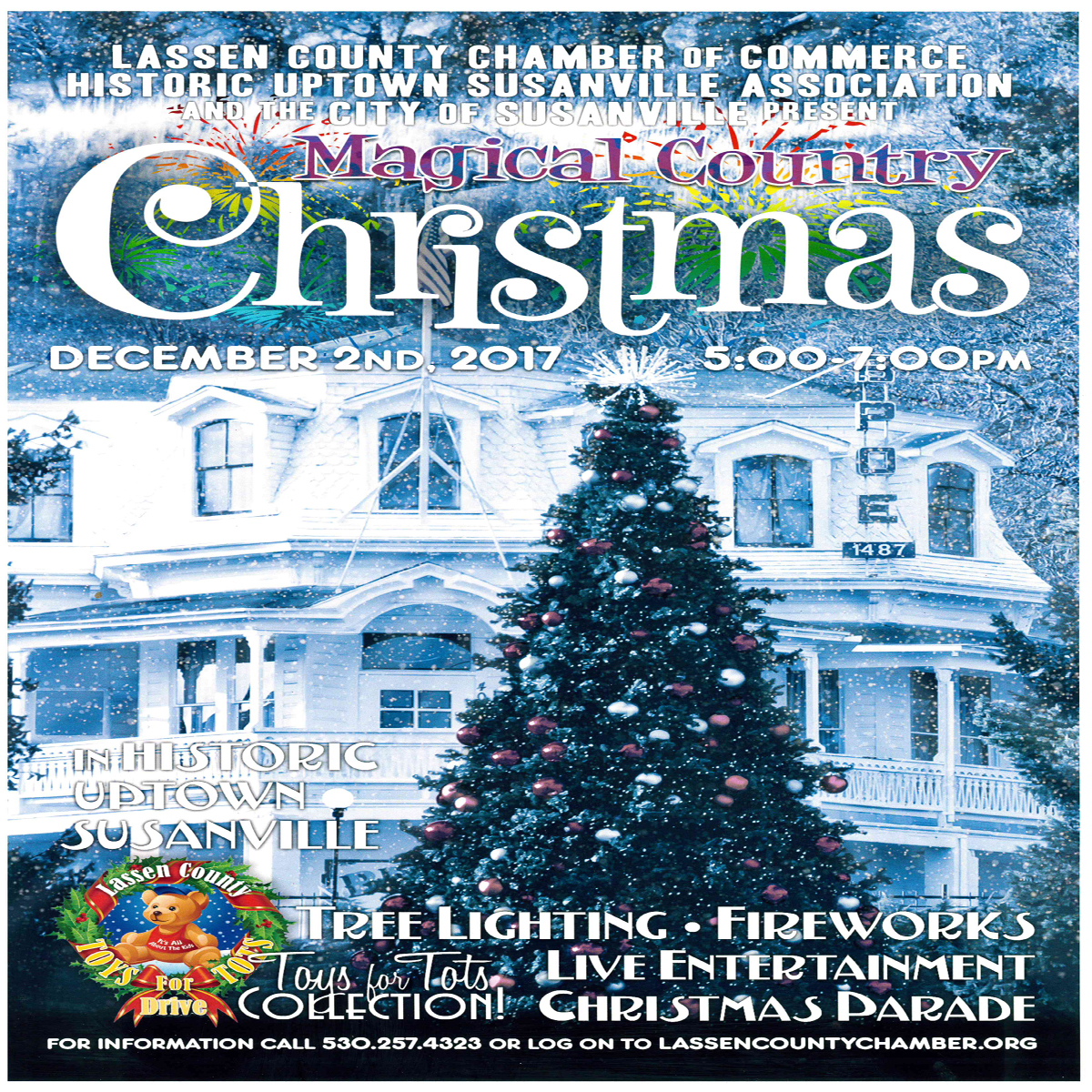 Historic Uptown Susanville Magical Country Christmas