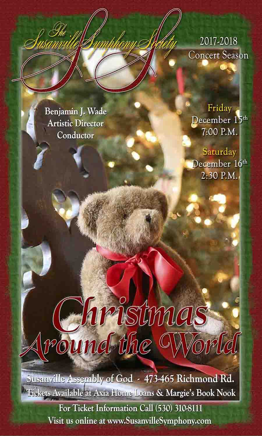 Susanville Symphony Christmas Around the World