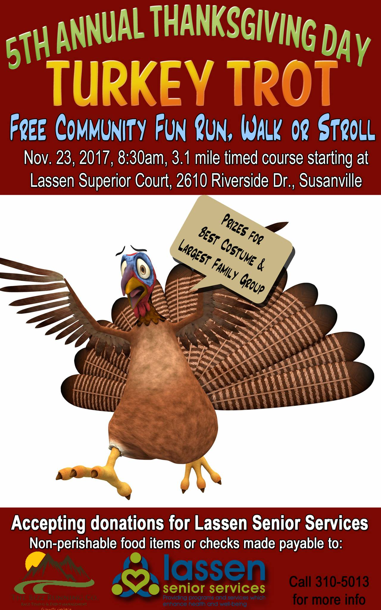 5th Annual Thanksgiving Day Turkey Trot