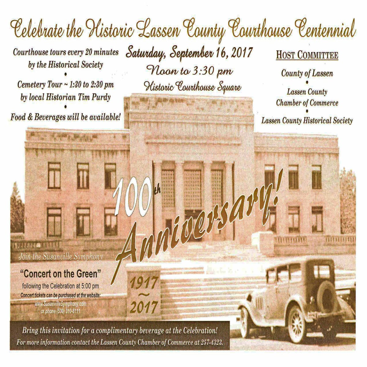 Lassen County Courthouse Centennial Celebration