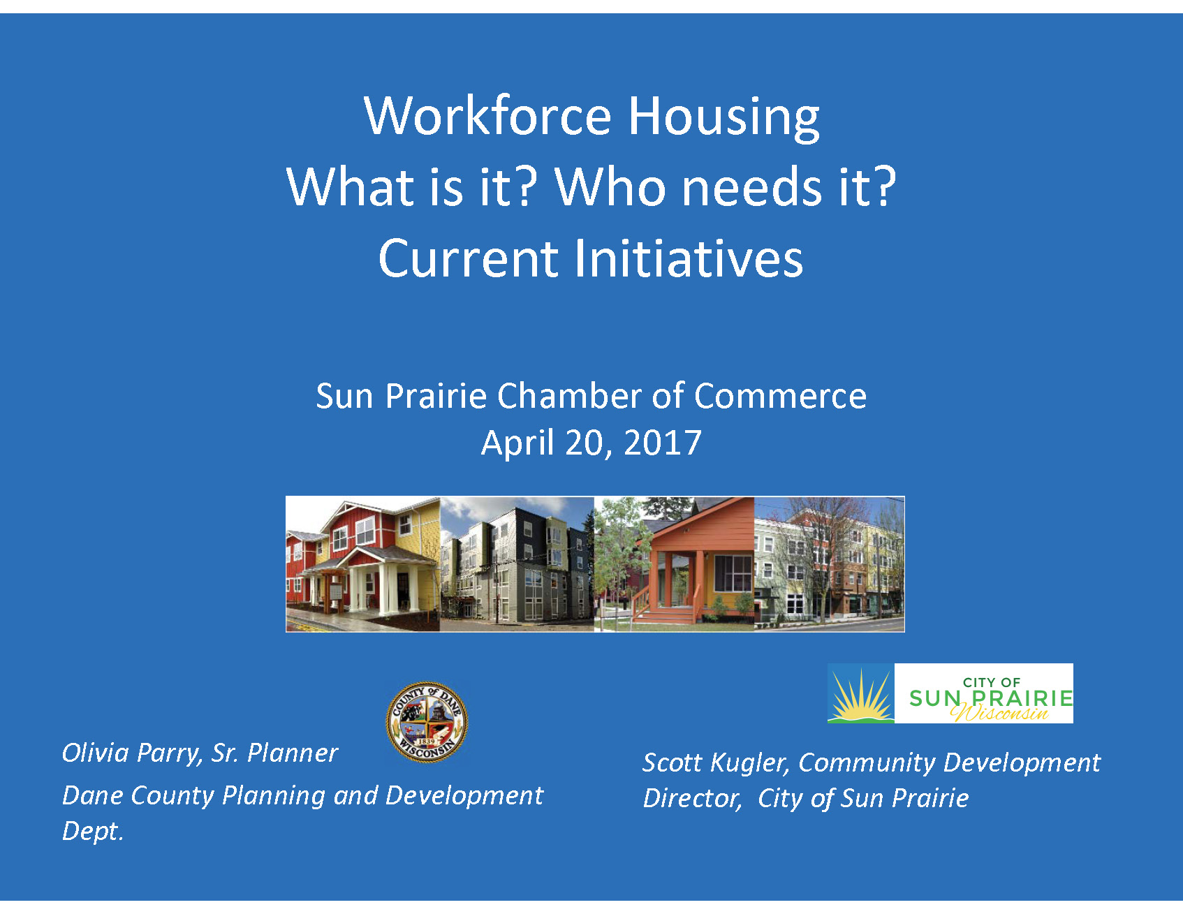 Workforce Housing