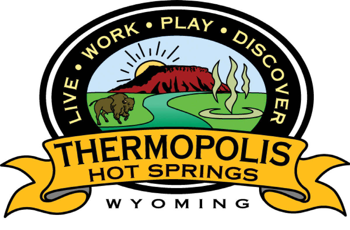 Thermopolis-Hot Springs Chamber of Commerce logo