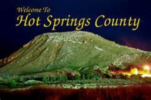 Hot Springs County Welcomes You!!!!