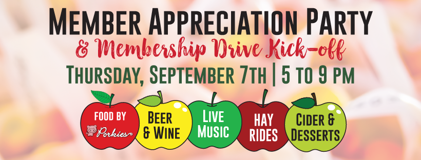 Membership Appreciation Party & Membership Drive Kickoff