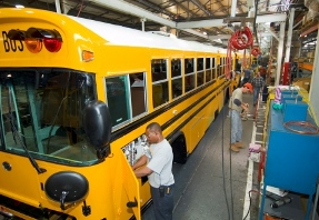 Blue Bird School Buses