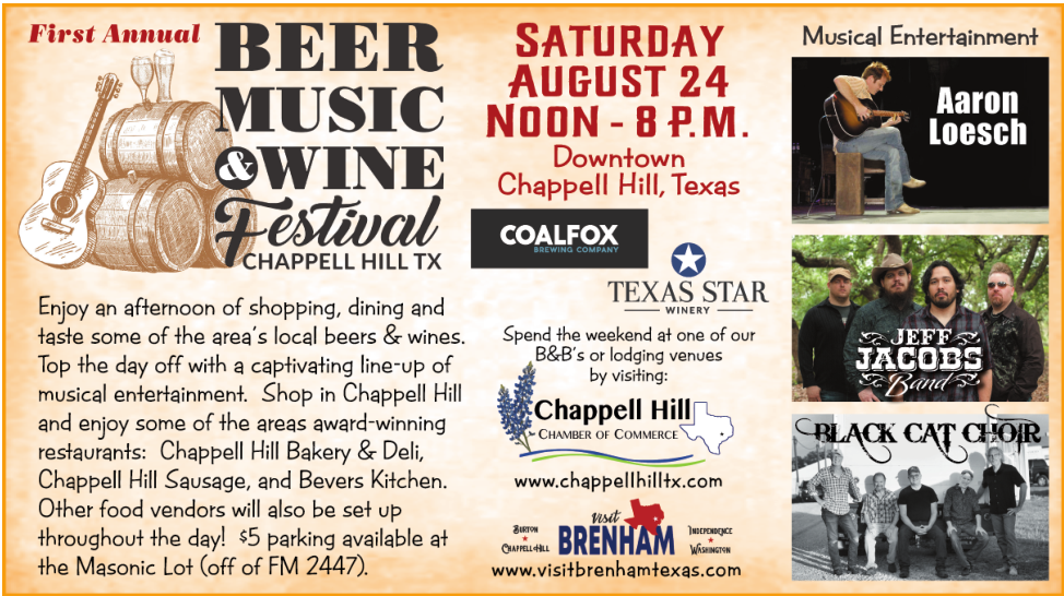 Home - Chappell Hill Chamber of Commerce, TX