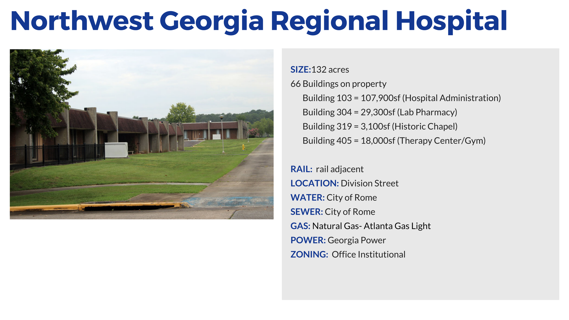 Northwest Regional Hospital in Rome and Floyd County Georgia