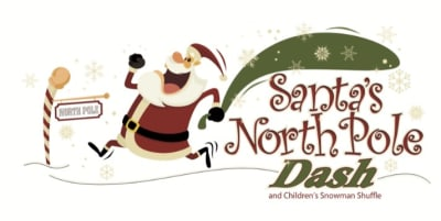 Santa's North Pole Dash Logo