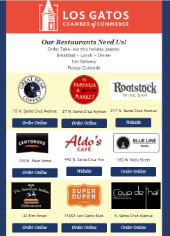 Support your restaurants!