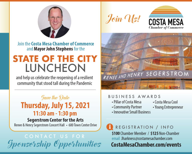 2021 State of the City Luncheon with Mayor John Stephens