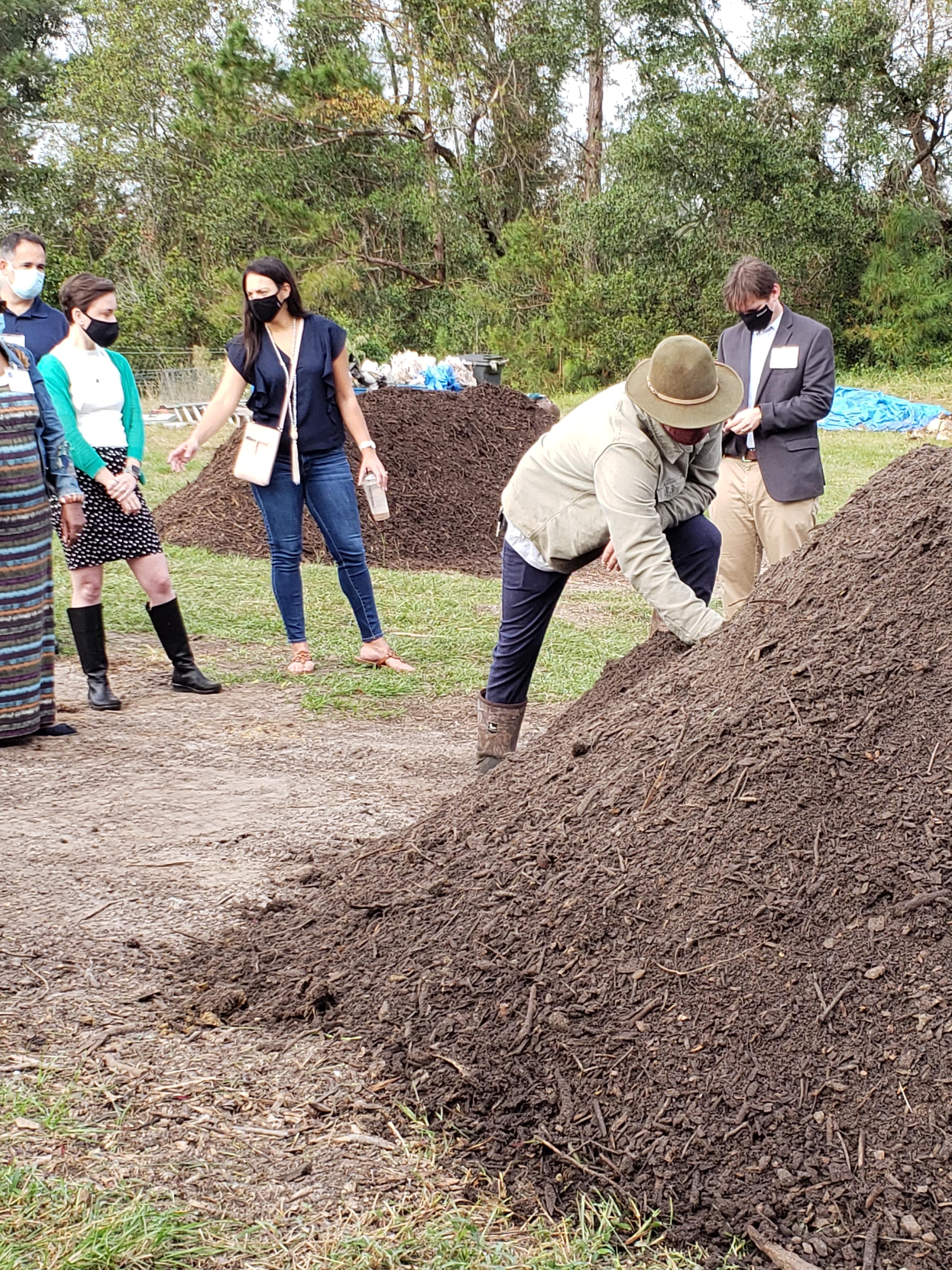 Leadership Wilmington Riley Alber Wilmington Compost Company