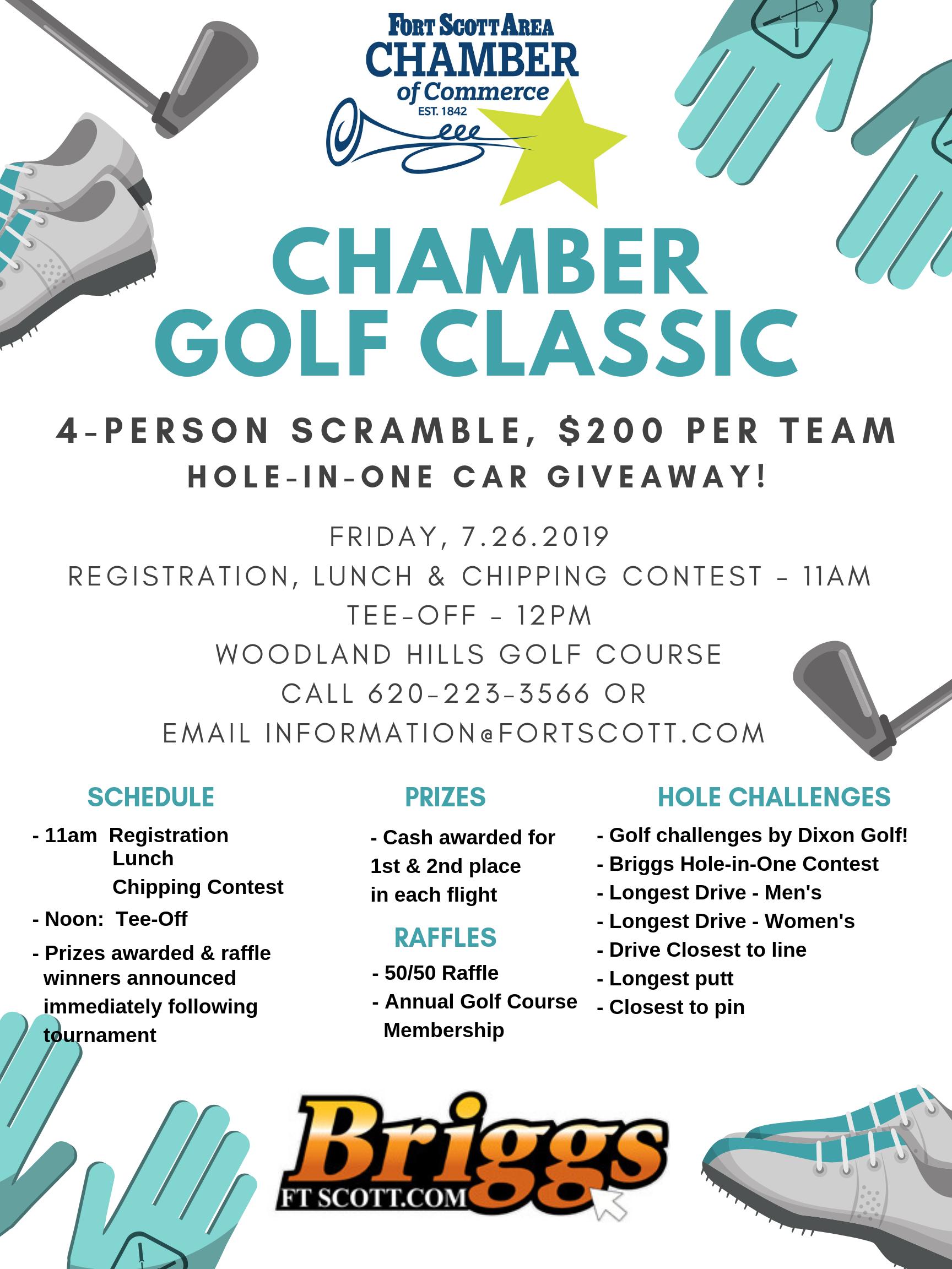 Fort Scott Chamber Golf Tournament
