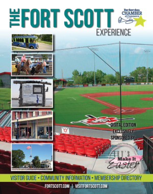 2020 Fort Scott - Bourbon County - Kansas Community Guide and Chamber Membership