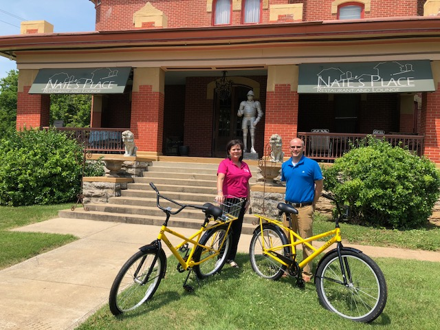 Bike Share Program - Nate's Place - Lyons Twin Mansions