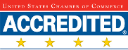 United State Chamber of Commerce Accredited Logo