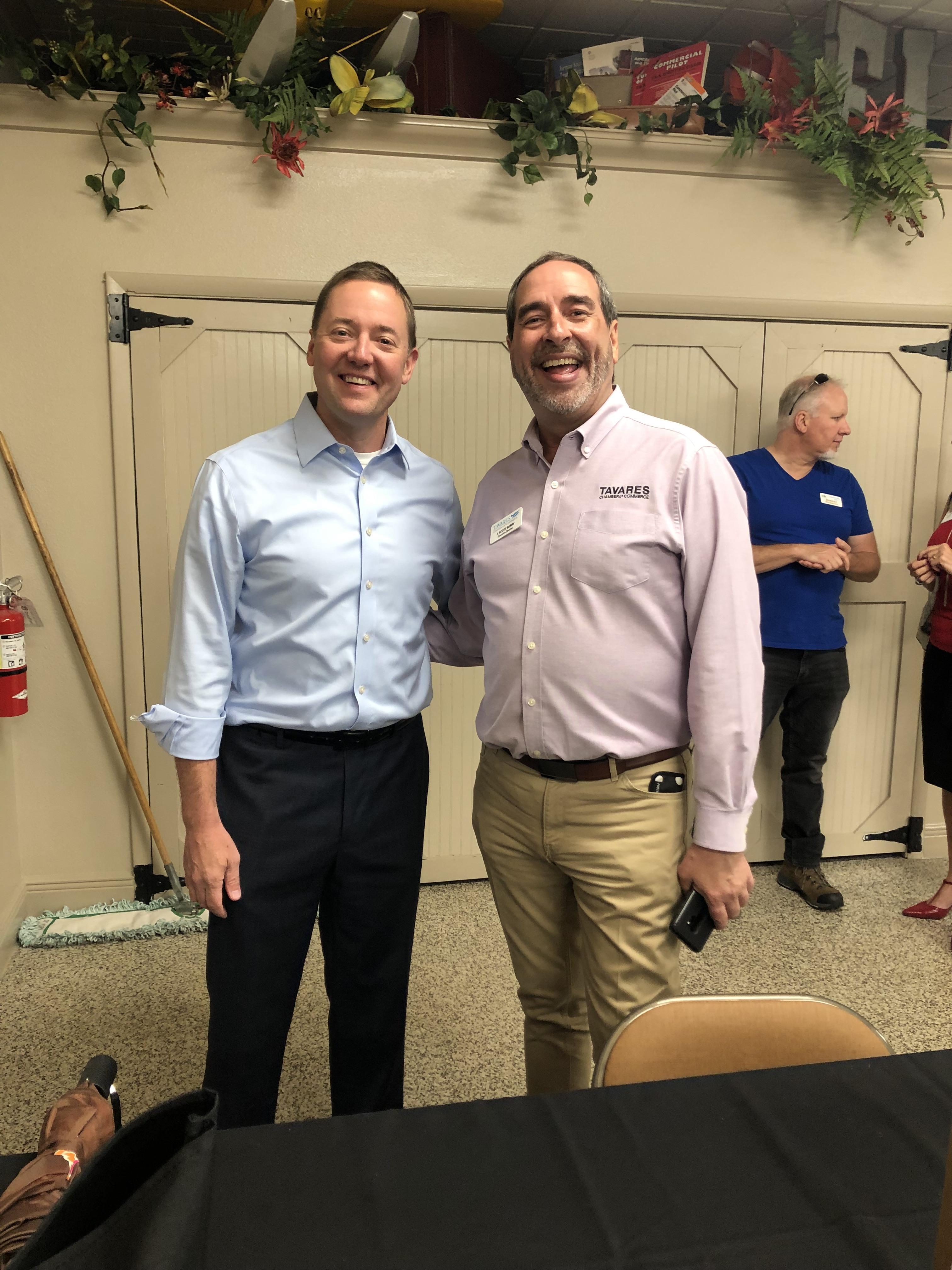 July 2019 Monthly Business Luncheon- Tom Terry & J Scott Berry