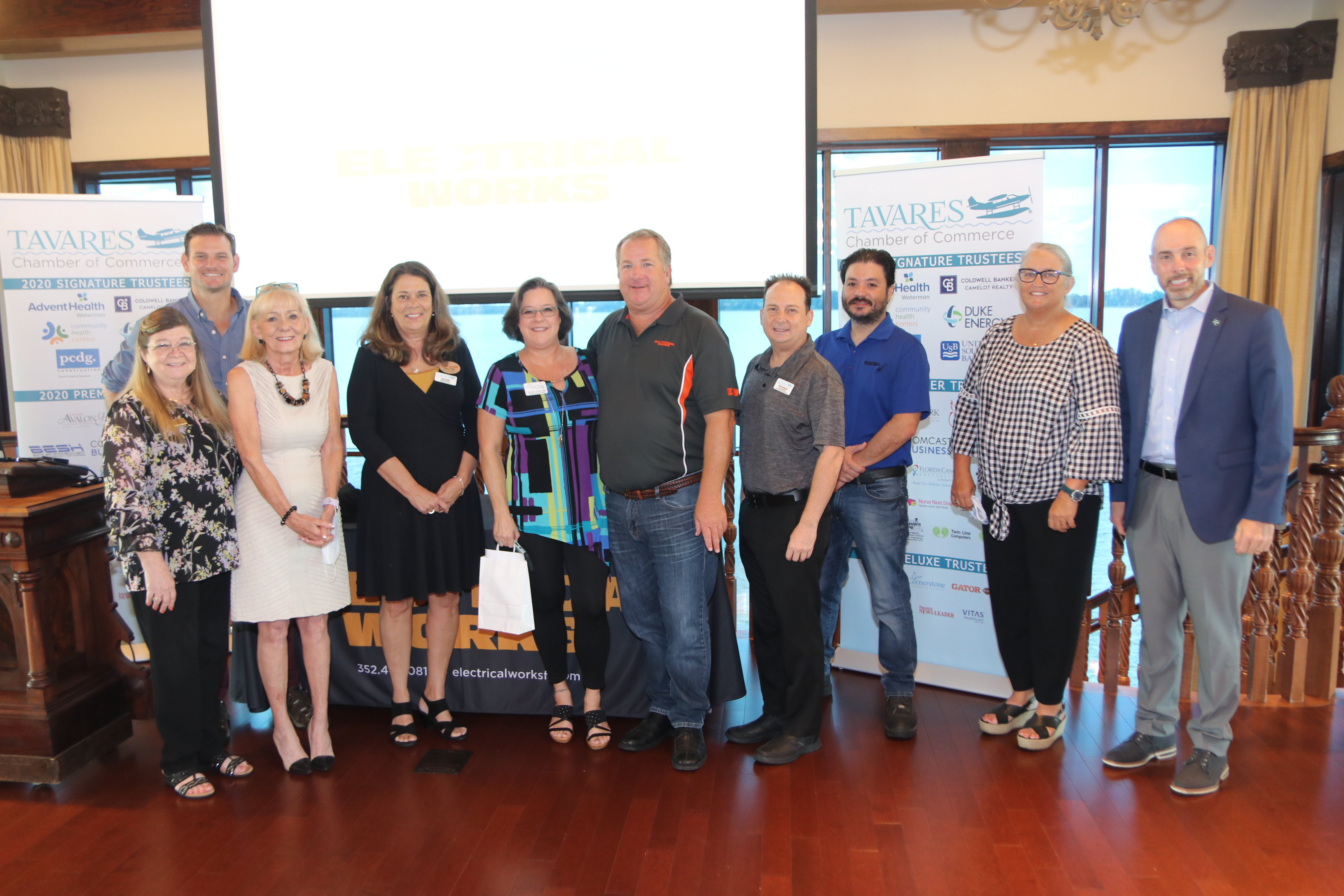 Tavares Chamber Board & Guests