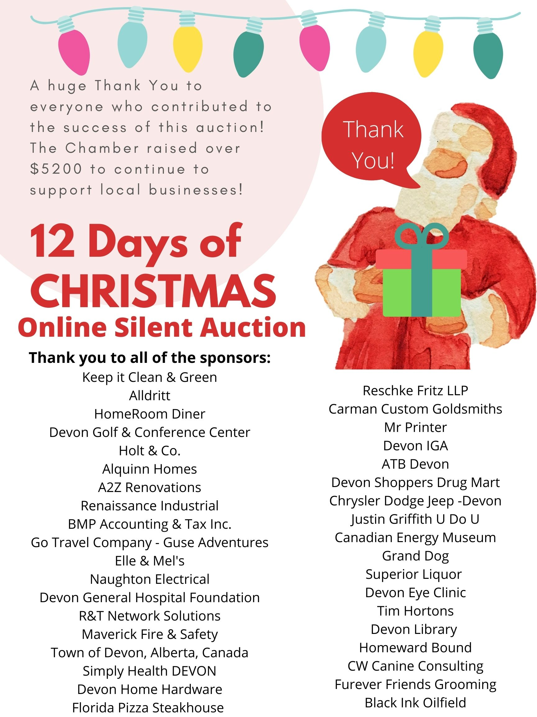 12 Days of Christmas Auction!