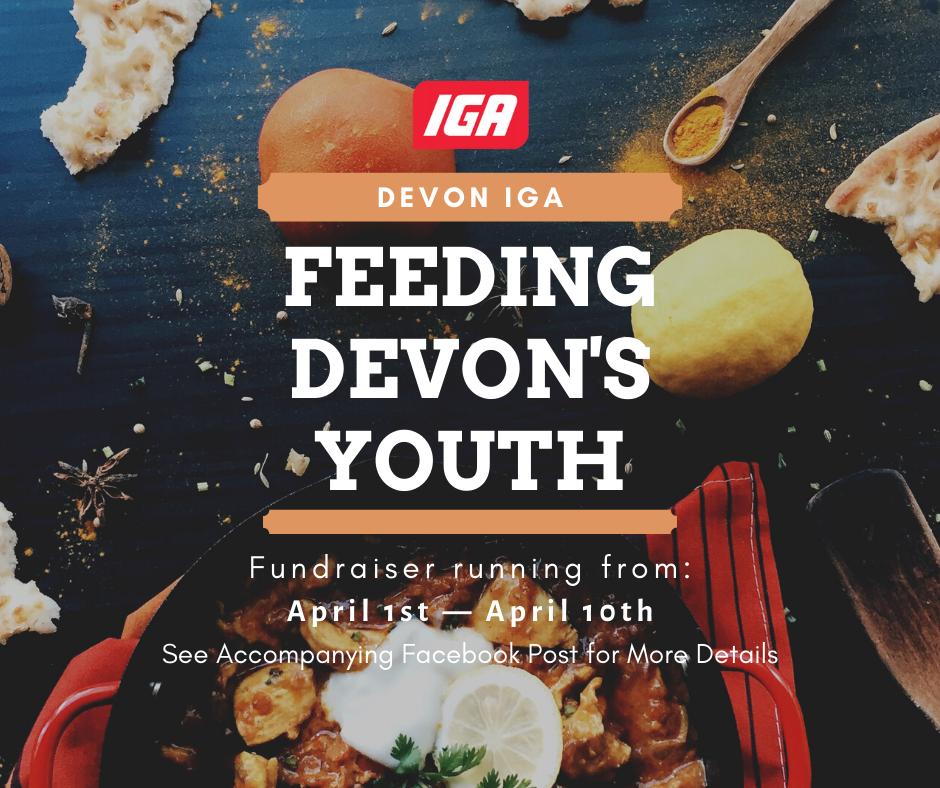 Devon IGA Feedin the Youth Fundraiser