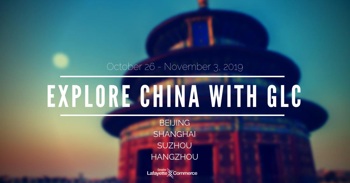 GLC Adventure to China