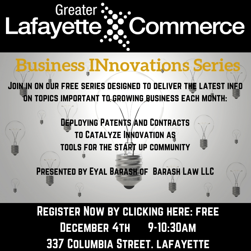 INnovations Series:  Deploying Patents and Contracts