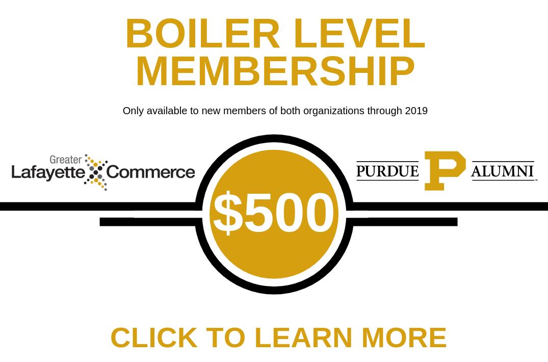 Boiler Level Membership - Join us!