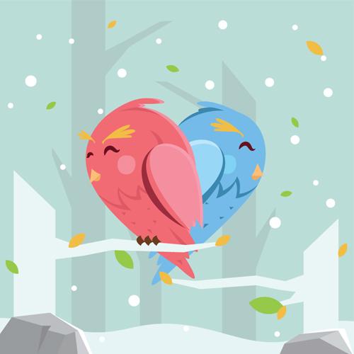 Lovebirds in Lanesboro