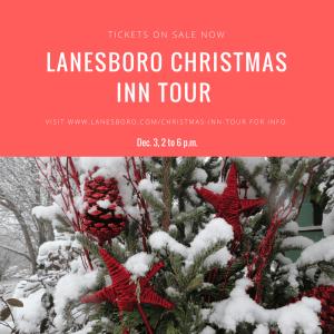 Lanesboro Christmas Inn Tour