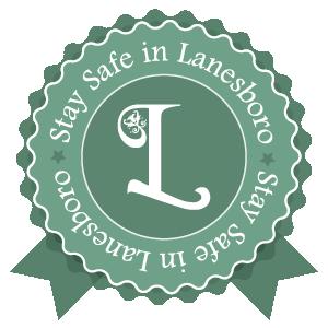Stay Safe in Lanesboro Badge