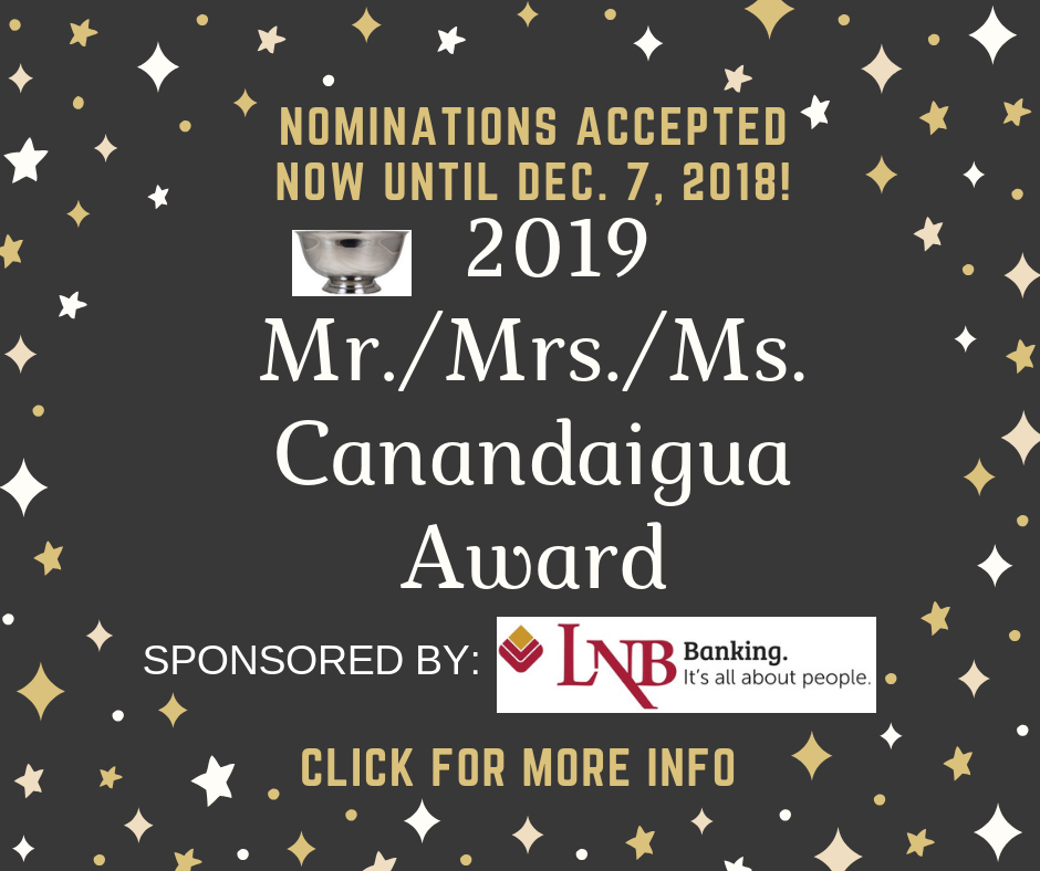 nominations sought for mr mrs canandaigua finger lakes daily news