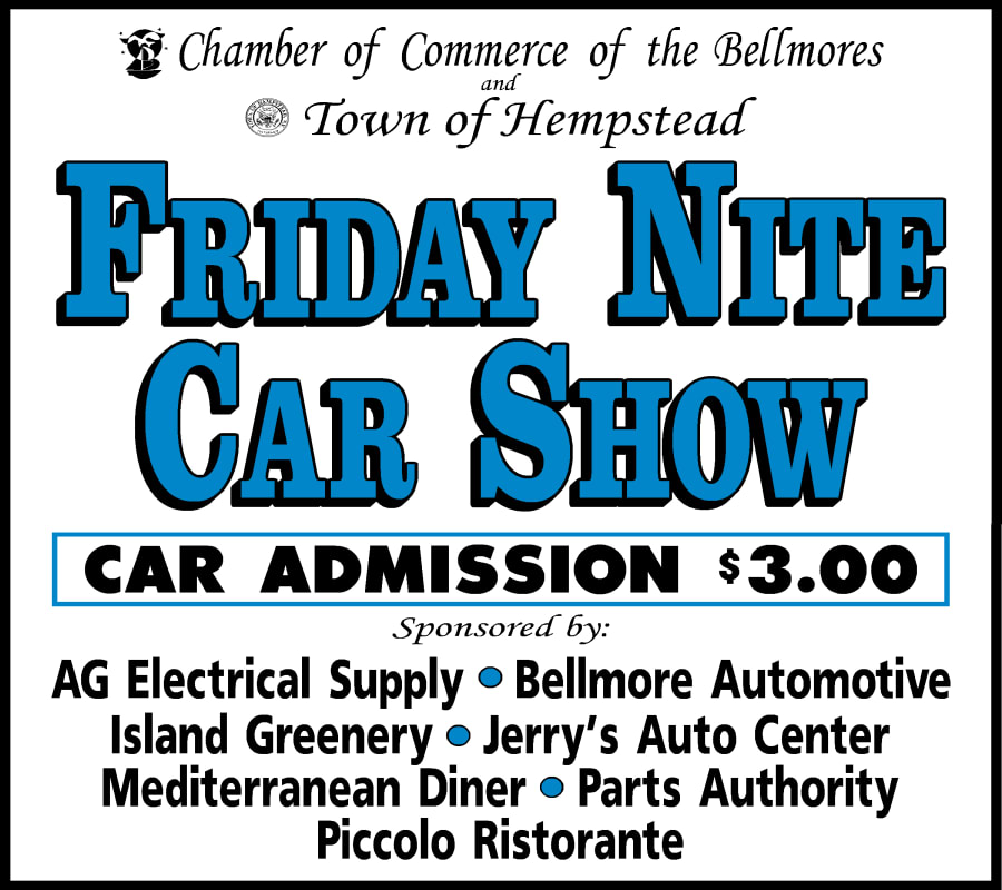 Friday Night Car Show Chamber Of Commerce Of The Bellmores NY - Car show management software