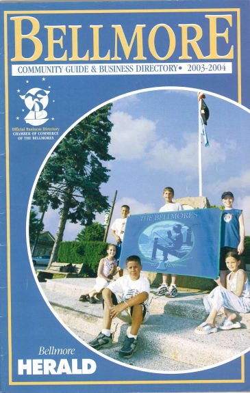 Bellmore Community Guide 203-2004 with Bellmore Flag