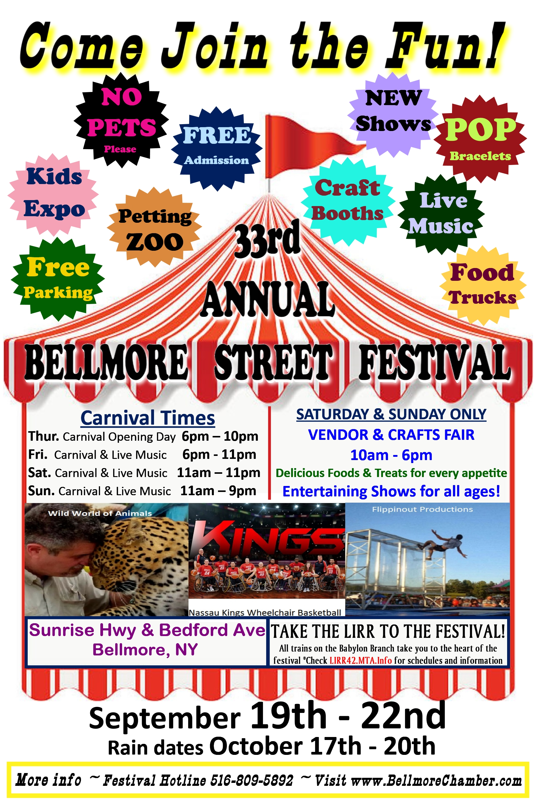 Coupons Tarrytown Craft Fair 2020.General Information Chamber Of Commerce Of The Bellmores Ny