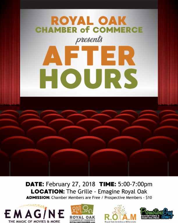February After Hours at Emagine Theater