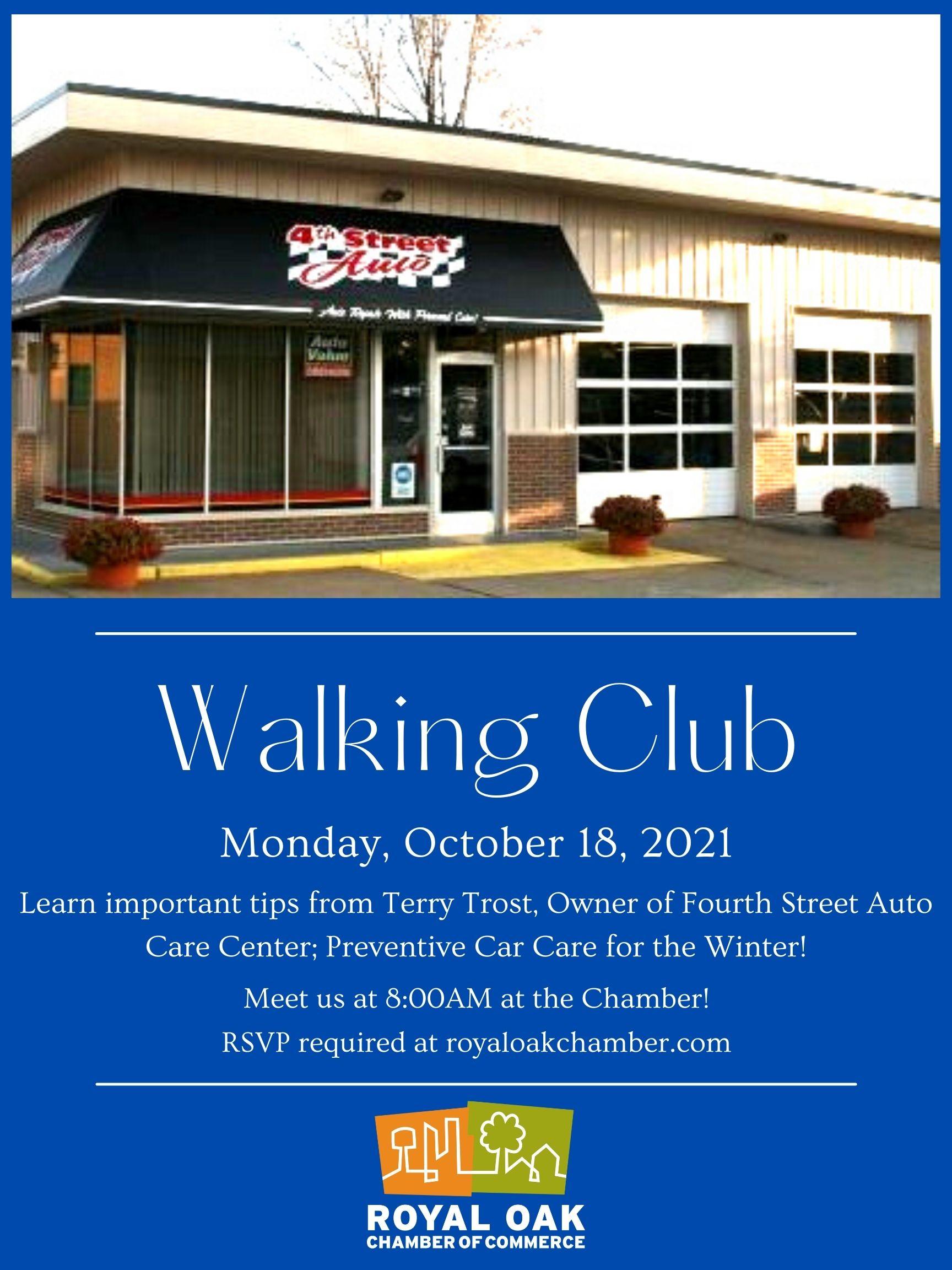 October Walking Club