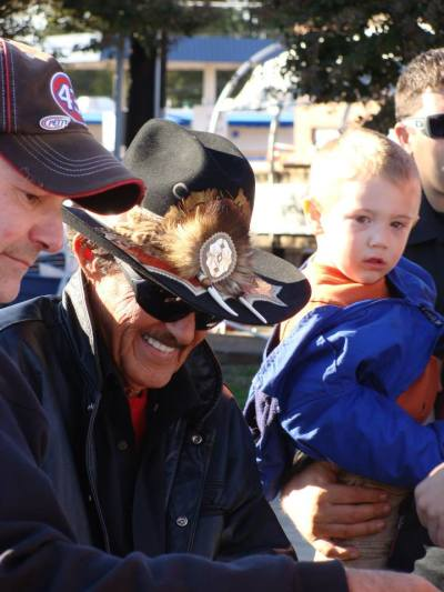 "Thousands come out to NASCAR Day Festival to meet ""The King"" Richard Petty"