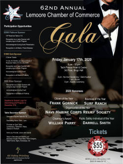 62nd Annual Lemoore Chamber of Commerce Gala