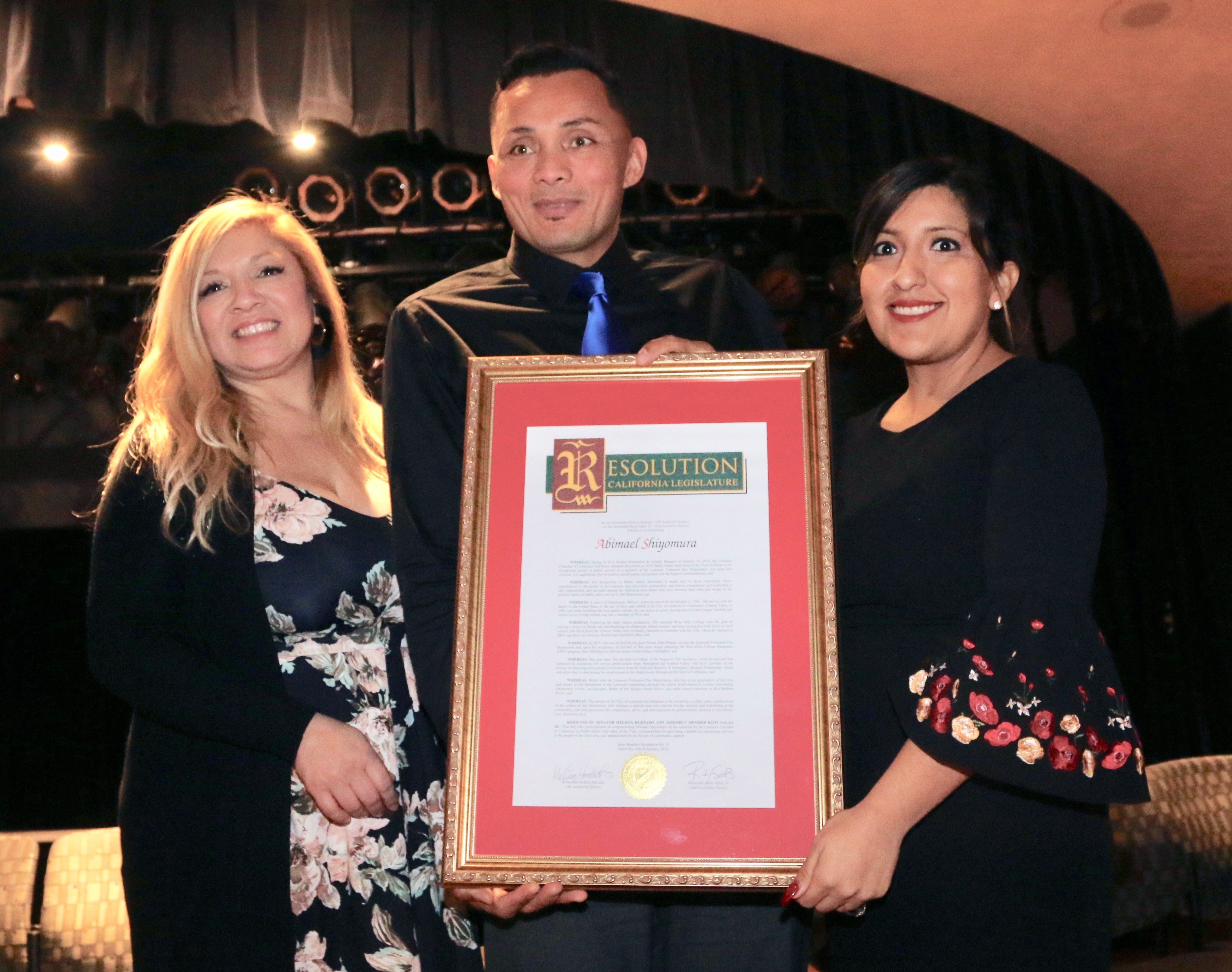Installation Banquet - Lemoore Chamber of Commerce, CA