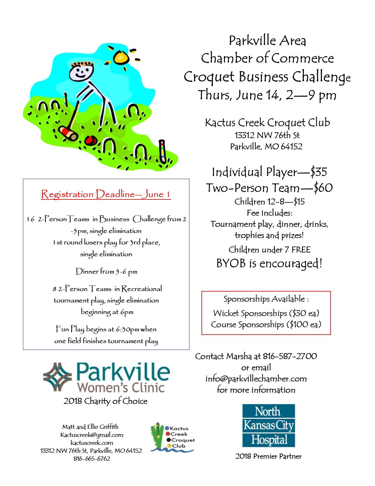 Croquet Business Challenge